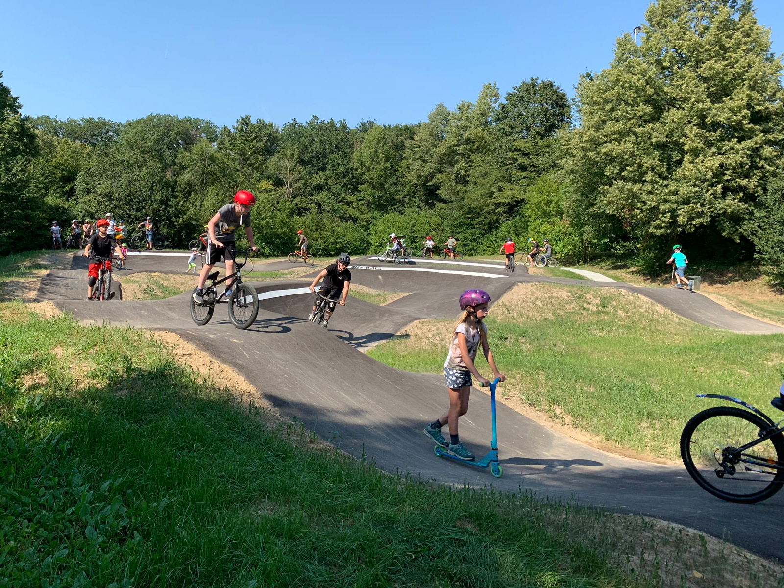 Pumptrack-Anlage